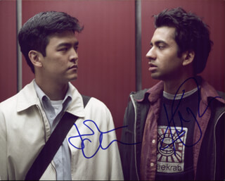 HAROLD & KUMAR GO TO WHITE CASTLE MOVIE CAST - AUTOGRAPHED SIGNED PHOTOGRAPH CO-SIGNED BY: JOHN CHO, KAL PENN