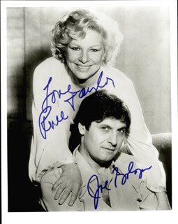 JOSEPH BOLOGNA - AUTOGRAPHED SIGNED PHOTOGRAPH CO-SIGNED BY: RENEE TAYLOR