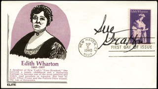 SUE GRAFTON - FIRST DAY COVER SIGNED