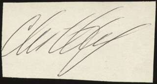 CHRISTOPHER DICKEY - AUTOGRAPH