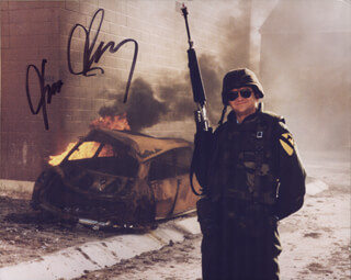 TOM CLANCY - AUTOGRAPHED SIGNED PHOTOGRAPH