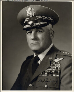 GENERAL NATHAN TWINING - AUTOGRAPHED SIGNED PHOTOGRAPH