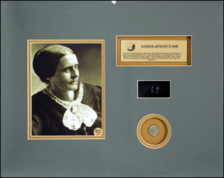 Autographs: SUSAN B. ANTHONY - EPHEMERA UNSIGNED