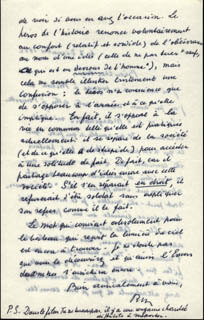 RENE MAGRITTE - AUTOGRAPH LETTER SIGNED 12/07/1962