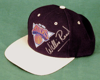 WILLIS REED - HAT SIGNED