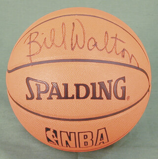 BILL WALTON - BASKETBALL SIGNED