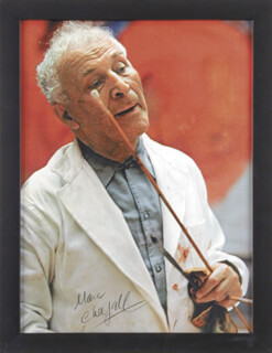 MARC CHAGALL - AUTOGRAPHED SIGNED PHOTOGRAPH