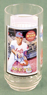 NOLAN RYAN - EPHEMERA SIGNED