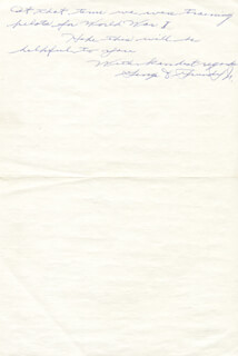 GEORGE D. GRUNDY, JR. - AUTOGRAPH LETTER SIGNED 03/17/1971