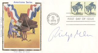 PHILIP GREEN - FIRST DAY COVER SIGNED