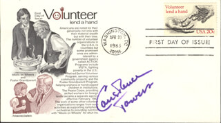 CONSTANCE TOWERS - FIRST DAY COVER SIGNED