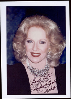 MARY COSTA - AUTOGRAPHED SIGNED PHOTOGRAPH 2003