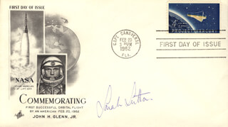 SARAH SUTTON - FIRST DAY COVER SIGNED