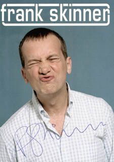 FRANK SKINNER - AUTOGRAPHED SIGNED PHOTOGRAPH