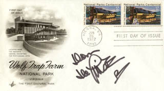 DOM DELUISE - FIRST DAY COVER SIGNED