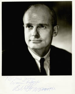 WILLIAM PROXMIRE - AUTOGRAPHED INSCRIBED PHOTOGRAPH