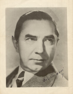 BELA LUGOSI - PROGRAM SIGNED