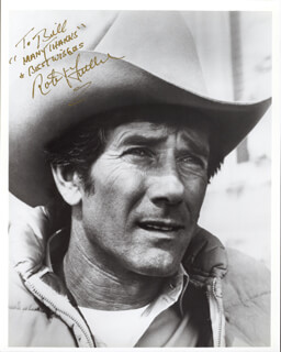 ROBERT FULLER - AUTOGRAPHED INSCRIBED PHOTOGRAPH