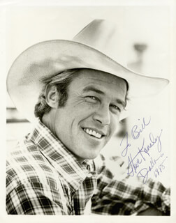 STEVE KANALY - AUTOGRAPHED INSCRIBED PHOTOGRAPH 1985