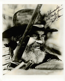 JACK ELAM - AUTOGRAPHED INSCRIBED PHOTOGRAPH