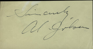 AL JOLSON - AUTOGRAPH SENTIMENT SIGNED CO-SIGNED BY: MITZI GREEN