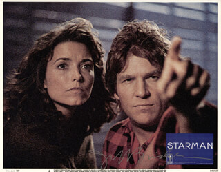 JEFF BRIDGES - LOBBY CARD SIGNED