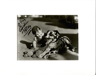 GORDON PORKY LEE - AUTOGRAPHED SIGNED PHOTOGRAPH