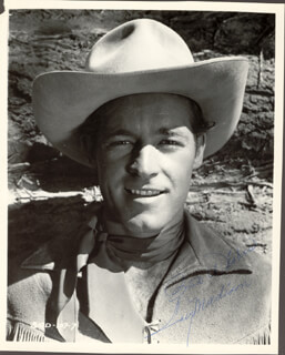 GUY MADISON - AUTOGRAPHED SIGNED PHOTOGRAPH
