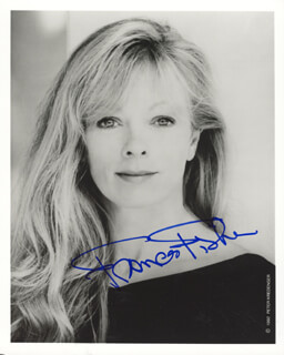 FRANCES FISHER - AUTOGRAPHED SIGNED PHOTOGRAPH