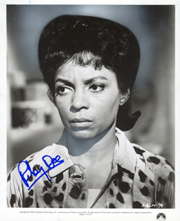 RUBY DEE - PRINTED PHOTOGRAPH SIGNED IN INK