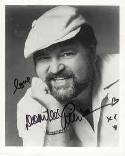 DOM DELUISE - AUTOGRAPHED SIGNED PHOTOGRAPH 1998