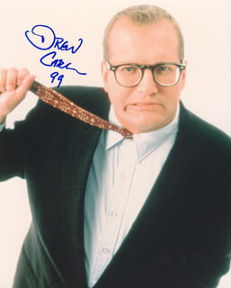 DREW CAREY - AUTOGRAPHED SIGNED PHOTOGRAPH 1999