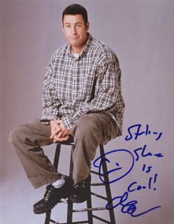 ADAM SANDLER - AUTOGRAPHED INSCRIBED PHOTOGRAPH