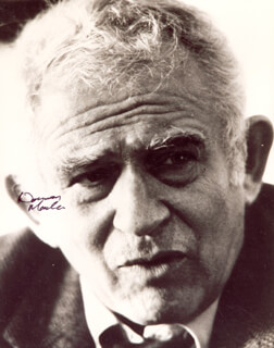 NORMAN MAILER - AUTOGRAPHED SIGNED PHOTOGRAPH