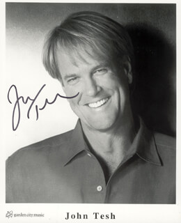JOHN TESH - AUTOGRAPHED SIGNED PHOTOGRAPH