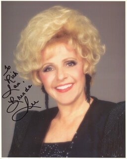BRENDA LEE - AUTOGRAPHED INSCRIBED PHOTOGRAPH