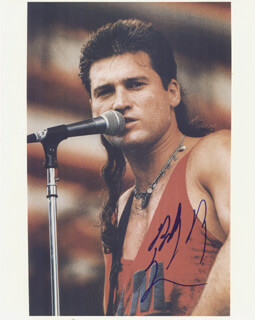BILLY RAY CYRUS - AUTOGRAPHED SIGNED PHOTOGRAPH