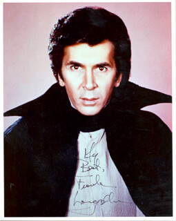 FRANK LANGELLA - AUTOGRAPHED SIGNED PHOTOGRAPH