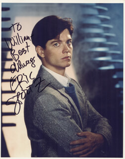 ERIC STOLTZ - AUTOGRAPHED INSCRIBED PHOTOGRAPH