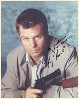 HARRY HAMLIN - AUTOGRAPHED INSCRIBED PHOTOGRAPH