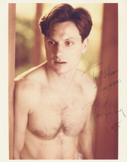 TONY GOLDWYN - AUTOGRAPHED INSCRIBED PHOTOGRAPH 12/1995