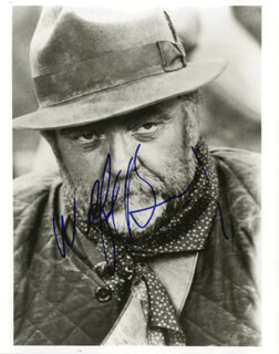 WILFORD BRIMLEY - AUTOGRAPHED SIGNED PHOTOGRAPH
