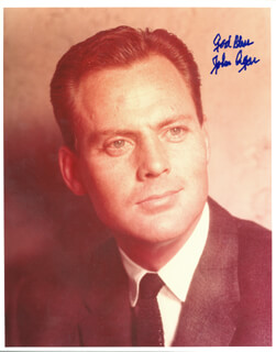 JOHN AGAR - AUTOGRAPHED SIGNED PHOTOGRAPH