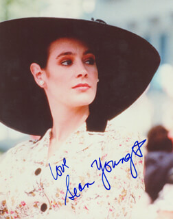 SEAN YOUNG - AUTOGRAPHED SIGNED PHOTOGRAPH