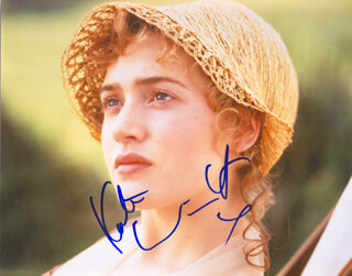 KATE WINSLET - AUTOGRAPHED SIGNED PHOTOGRAPH