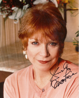 SHIRLEY MacLAINE - AUTOGRAPHED SIGNED PHOTOGRAPH