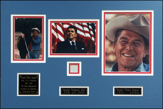 PRESIDENT RONALD REAGAN - EPHEMERA UNSIGNED