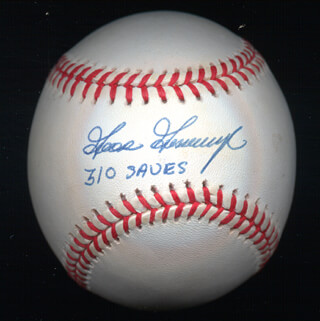 RICH GOOSE GOSSAGE - AUTOGRAPHED SIGNED BASEBALL