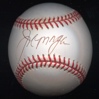 JOE LITTLE JOE MORGAN - AUTOGRAPHED SIGNED BASEBALL