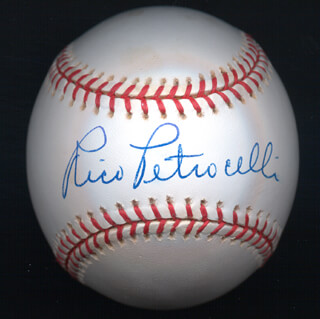 RICO PETROCELLI - AUTOGRAPHED SIGNED BASEBALL